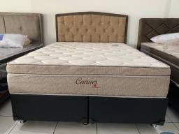 Promoçao Cama Box + Colchao cannes Montreal Queen Size 158x198 >>:1799,99