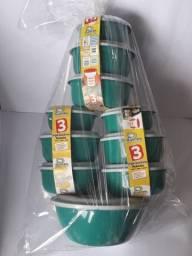 Promoção kit 10 vasilhas entrega grátis