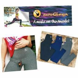 Leggings Aeroginga, cintura alta, do P ao GG 42,00 e do G1 ao G3 50,00