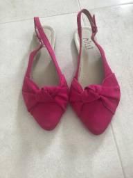 Sandália rosa