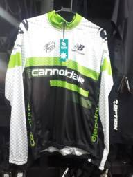 Camisa de ciclismos masculina nova