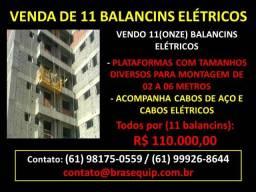 Vendo 11 (onze) Balancins Elétricos