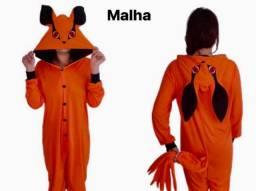 Pijama Kigurumi Kurama em Malha