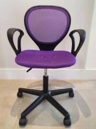 Cadeira roxa com ajuste de altura Tok & Stok
