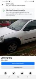 Ford ka 2000/2001 barbada aceito proposta e cartão