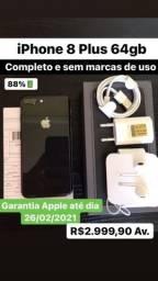IPhone 8 Plus 64gb(4 meses de garantia Apple)