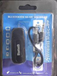 RECEPTOR BLUETOOTH  PARA MÚSICA/ SAÍDA  AUXILIAR  P2 USB ADAPTADOR