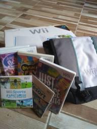 Nintendo Wii Desbloqueado + HD 240GB Principais Jogos + Bolsa Original