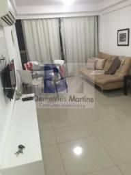 DM vende Flat com 34m2,frente p mar(mobiliado) Beira Mar Piedade