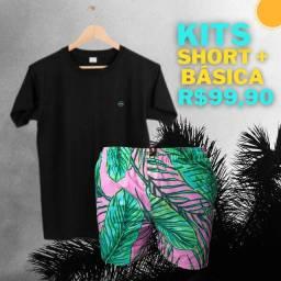Shorts +  Camisas Básicas