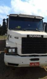 Scania 112 ano 84 e carreta 94. Vendo engatado.