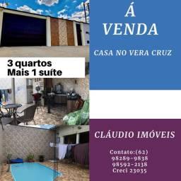 VENDO CASA NO VERA CRUZ / CASA BASTANTE GRANDE