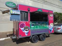 Fábrica trailer Food truck lanche açaí pastel sorvete espetinho milho crepe churros
