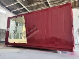 Container comercial - loja - hamburguer - plantao de vendas - suites temporada