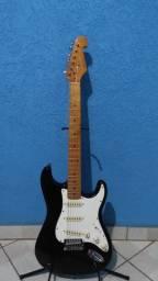 Guitarra Stratocaster SX sst57 Vintage Series Preta (usada)