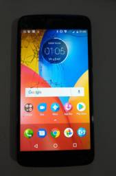 Motorola E4 Plus Tela Trincada Fora Isto Tudo Funcionando