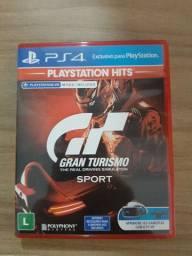 Jogo Gran Turismo PS4.