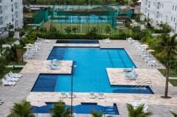 Palm Village Porto de Galinhas - FRENTE PISCINA 3 qtos (1 suíte) 67 m2