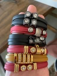 Pulseiras novas !Vendo lote de pulseiras novas! Modelos diversos !