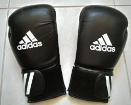 Luva de Boxe/Muay Thai Adidas - Preta - 14oz