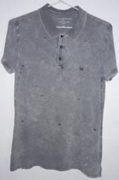 Camisa Polo - Manga Curta - Tamanho: P