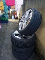 """Jogo de roda aro""""20 com pneus extra"""