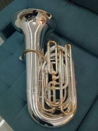 Tuba 5/4 Weril Weingrill Nirschll Wntu1 -15 dias de Uso Novinha-Troco-Parcelo 12x