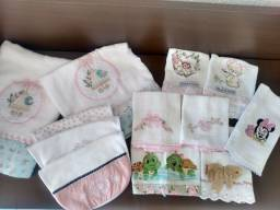 Fraldas bordadas (usadas )