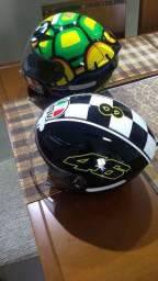 Vendo capacete AGV k3 e blade usado