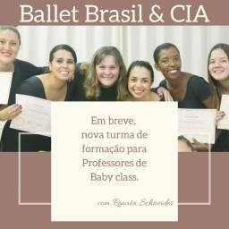 Aula formação de Professores de Baby class