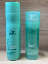 Shampoo + máscara wella invigo boost