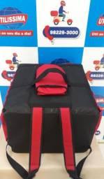 Mochila bag 48 litros para pizza de até 45 cm - Entrega grátis *