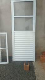 Portas e janela de alumínio