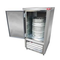 Balcão Chopp Refrigerado Aço Inox para 1 Barril
