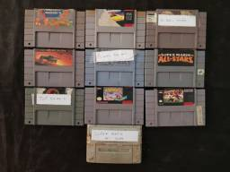 Cartuchos para Super Nintendo