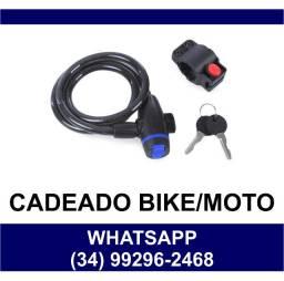 Cadeado para Bicicleta Bike e Moto * Fazemos Entregas
