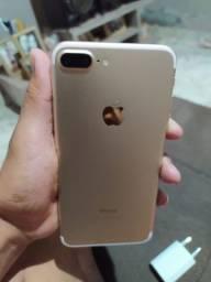 IPhone 7 Plus 128 gigas dourado $ 1.600