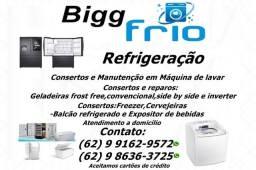 Manutenção e Consertos:Máquina de lavar,Geladeiras,Freezer e outros>Ligue Agora