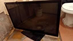 Televisão LG 42 queimada