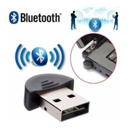 Adaptador Mini USB Bluetooth Compacto 2.0 Conexão Wireless