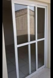 Porta de vidro Corrediça