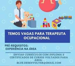 Vaga emprego - Terapeuta Ocupacional