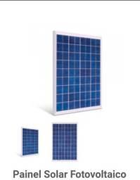 Painel placa solar 30W energia solar fotovoltaica