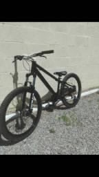 Bike venzo top com freio hidraulico