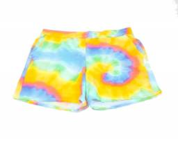 Shorts Feminino Plus Size Estampado