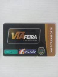 Cartão Via Feira 88 passagens, 6 meses de validade