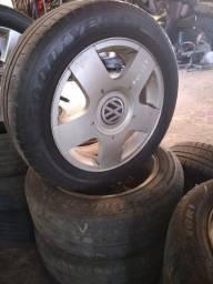 Conjunto De Rodas Aro 15' - Volkswagen Golf