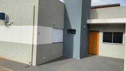 Casa nova em condomínio. 2 quartos c/ Suíte, mobília completa. Financia. Vilas Boas