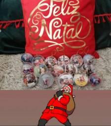 Bolinha de Natal Personalizada com Foto a partir de 4,60 cada (Kit 3)
