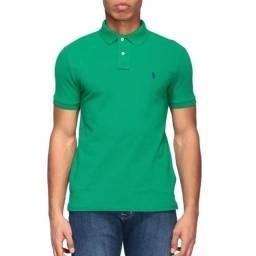 Camisas Gola Polo Verde